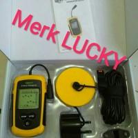 Portable Fish Finder 2.0 inch Alat deteksi sonar ikan fishfinder