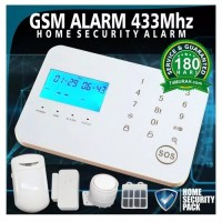 gsm alarm 433 mhz home security