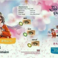 Softlens Lc Passion / Living Color Passion - Grey Normal Terjamin