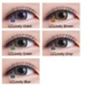 Softlens Living Color Lovely - Black Normal Berkualitas