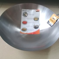 Wajan D 40cm Carbon Stainless Steel - Golden Flying Fish WJ0240CS