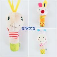 Mainan Bayi 3 Bulan Rattle Stick Standart