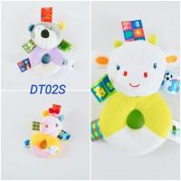 Mainan Bayi 3 Bulan Boneka Rattle Donat Standar