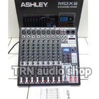 Harga mixer ashley mdx8 mdx 8 sound system mixer 8 ch original garansi | antitipu.com