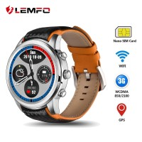 LEMFO LEM5 3G Smartwatch Android 51 GPS Mens Watches SIM Card