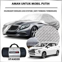 Cover Mobil / Sarung Mobil XPANDER Merk FUSION R / Cover Mobil Putih