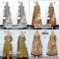 gamis batika aneka motif