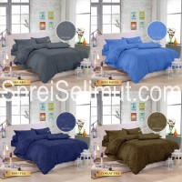 Sprei Jacquard Royals bahan katun microtex tinggi 30cm uk King/Queen
