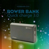 Power Bank VIVAN Q10 Power Storm QUICK CHARGE 3.0 10.200mAh FULL ORIGI