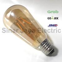 lampu LED bulb bohlam edison / cafe / antik / pijar / dekorasi 4W OVAL