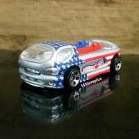 DIECAST HOTWHEELS DEORA II Star-Spangled Series Collector No 081 Loose