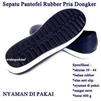 Sepatu Pria Rubber Kasual NAVY