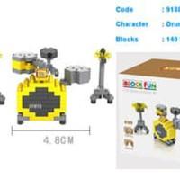 Murah Loz Lego Nano Block Drum