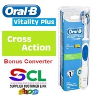 Oral B Vitality Cross Action Electric Toothbrush / sikat gigi elektrik
