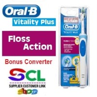 Oral B Vitality Floss Action Electric Toothbrush / sikat gigi elektrik