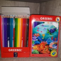 Pensil Warna Water Colour Greebel 36