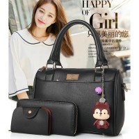Harga tas sandang hand bag grey like elizabeth hush puppies wanita gray | WIKIPRICE INDONESIA