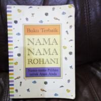 Nama-nama Rohani untuk anak bayi