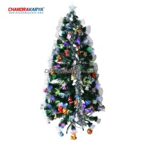 Pohon Natal Fiber Optic Tree - Ukuran Tinggi 270 Cm (Tanpa Hiasan)