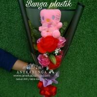 Harga Rangkaian Bunga Mawar Plastik Hargano.com