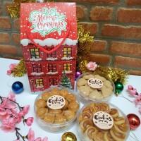 Hampers Kue Kering Cookies Parcel Parsel Natal Cantik Murah