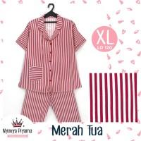 Piyama Celana Panjang XL Dewasa Baju Tidur Katun 05