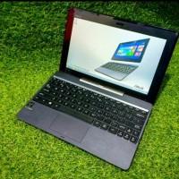 Laptop Murah Asus transformer T100TA Ram 2GB/ssd 32GB/hardisk 500GB