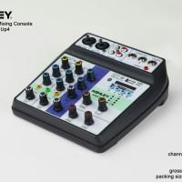 mixer audio mini 4ch 4 ch ashley speed up4 4 channel bluetooth usb