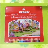 Kenko pensil warna CP-24TC murah lengkap gambar murah lukis malang