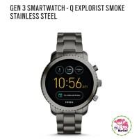 FOSSIL Q SMARTWATCH EXPLORIST SMOKEY GEN 3 // FTW4001