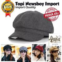 TOPI BARET NEWSBOY IMPORT