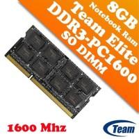 Team Elite 8GB Sodim DDR3 PC-1600 / low voltage Limited