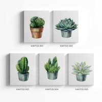 jual dekorasi kaktus hiasan dinding rumah tropical poster