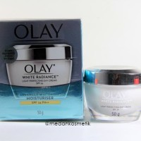 Krim OLAY White Radiance Light Perfecting Moisturiser Day Cream 50gr