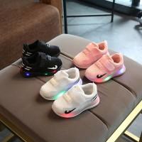 Sepatu Anak LED Usia 1-6 Tahun untuk Anak perempuan dan laki laki
