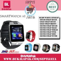 SMARTWATCH A1 TERBAIK SMART WATCH U10 APPLE IPHONE ANDROID WA FB