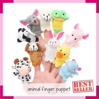 Edufuntoys - ANIMAL Finger PUPPET   Boneka Jari binatang   bonji   eb72eab1f6