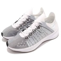 AO1554 100 Sepatu Ori Nike EXP-X14 Asli Original Sneakers White Grey
