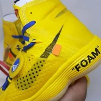 Sepatu Basket Nike HYPERDUNK OFF WHITE YELLOW PREMIUM