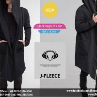 Hoodie Black Vagrant Coat