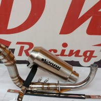 knalpot racing honda scoopy karbu spark titan high quality