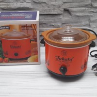 (GOJEK) TAKAHI SLOW COOKER 1.2 LITER TANAH LIAT TYPE 3102 - TAKAHI 1.2