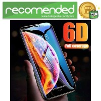Zilla 6D Tempered Glass Curved Edge 9H 0.26mm for iPhone XS - Hitam