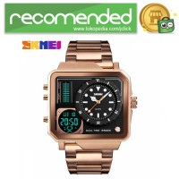 SKMEI Vogue Jam Tangan Digital Analog Pria - 1392 - Rose Gold