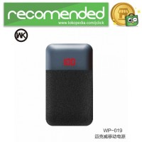 WK MAK Power Bank Dual Port 10000mAh - WP-019 - Hitam