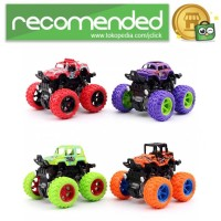 Monster Zap Mainan Mobil Jip Off Road 4 Drive Inertial - 866003 - Mul