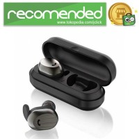 WK Dual TWS Airpods Earphone Bluetooth dengan Charging Case - BD800 -