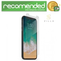 Zilla 2.5D Tempered Glass Curved Edge 9H 0.26mm for iPhone XS - Trans