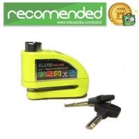 Gembok Alarm Sepeda Motor Waterproof 110dB - FS8305 - Kuning