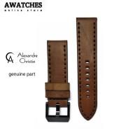 Jual Tali strap kulit jam tangan AC Alexandre Christie size 24 Original Murah